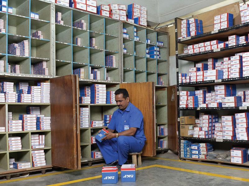 SKF Bearing Storage Department