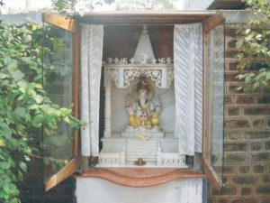 Lord Ganesh Showering Blessings